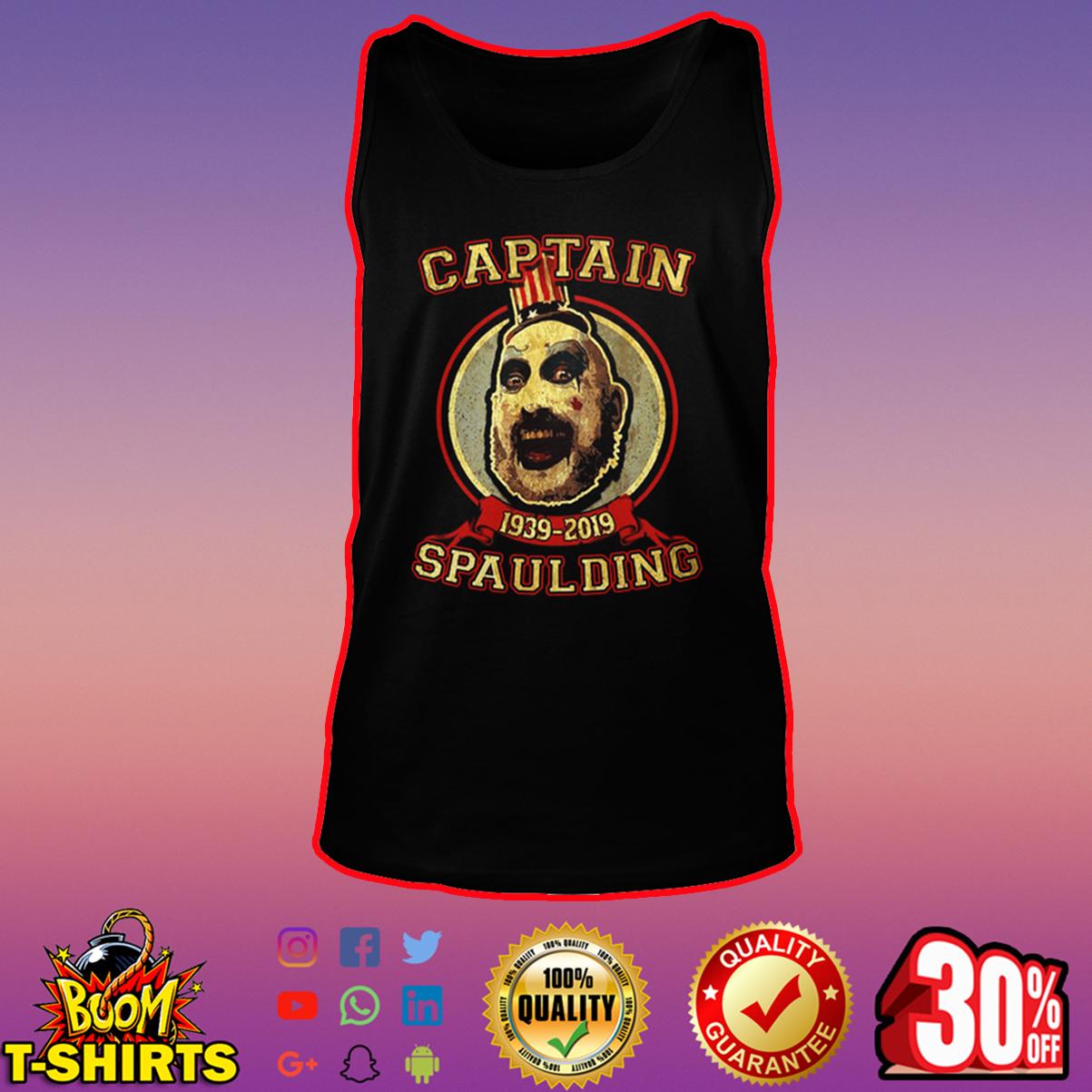 Captain Spaulding 1939-2019 tank top
