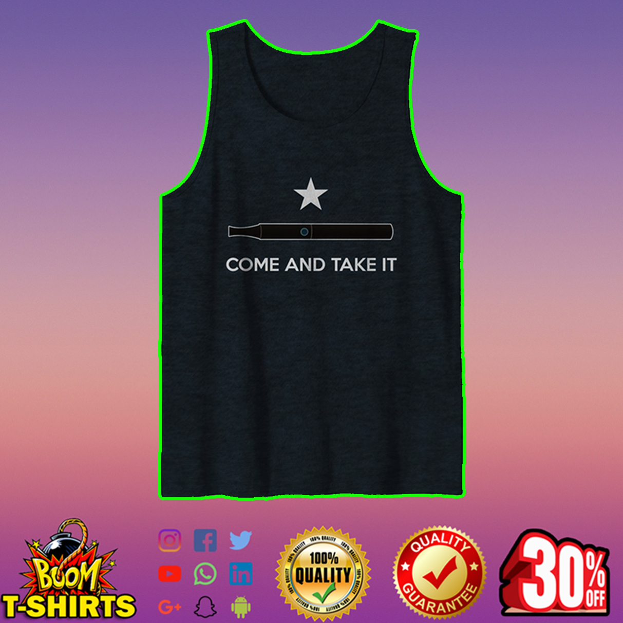 Come And Take It tank top
