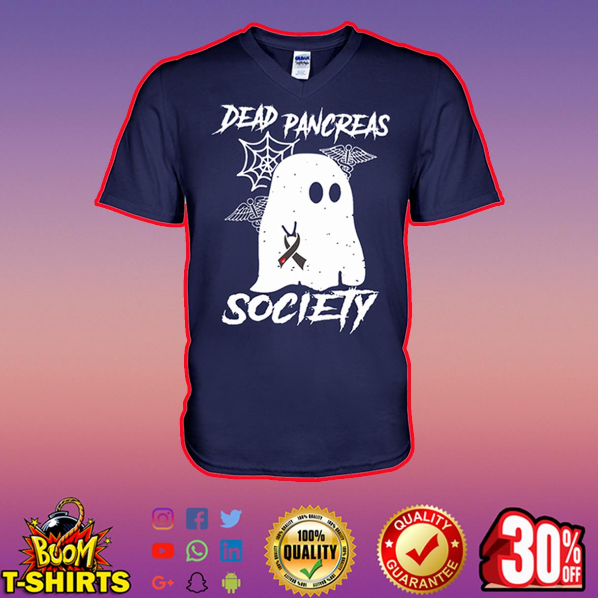 Dead Pancreas Society v-neck
