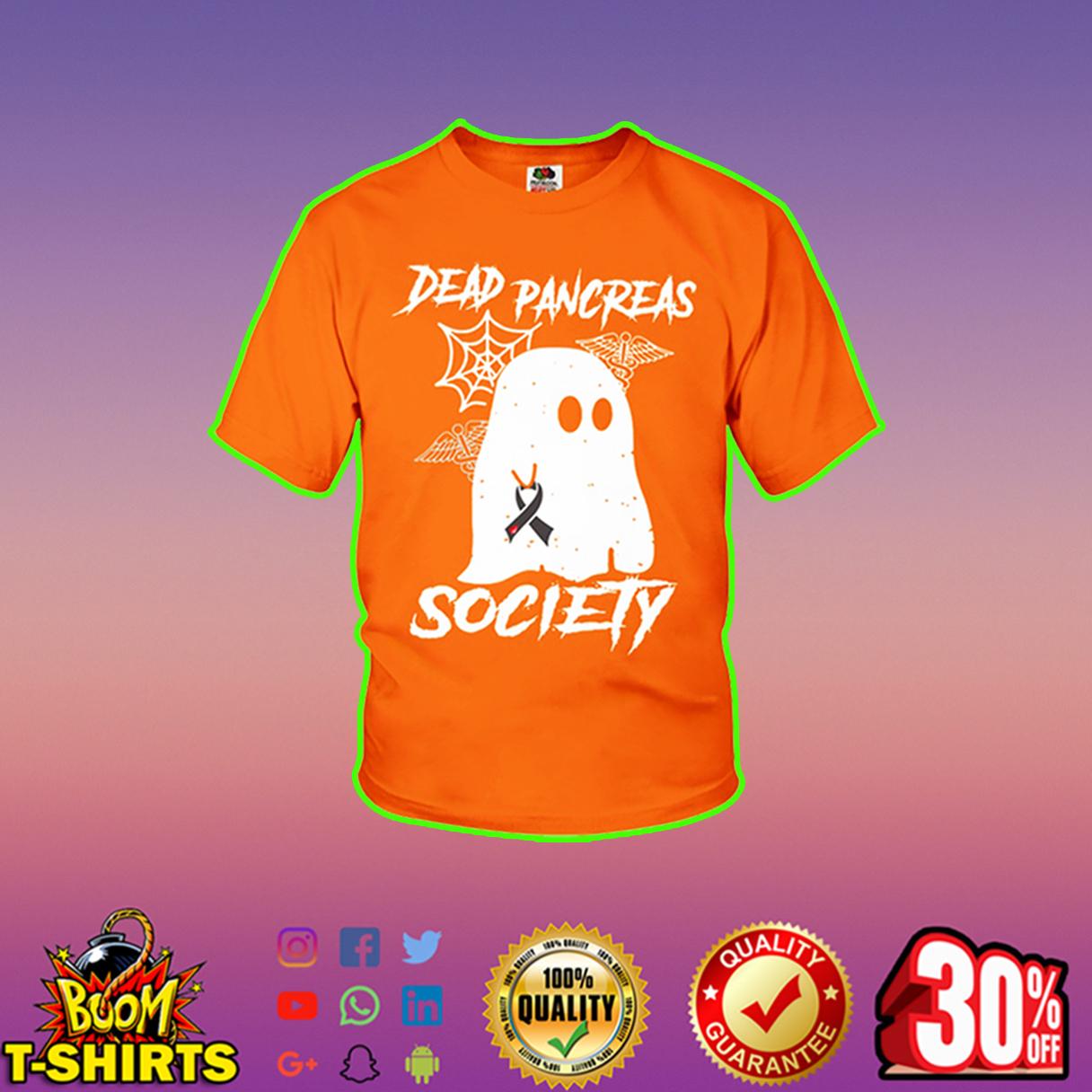 Dead Pancreas Society youth tee