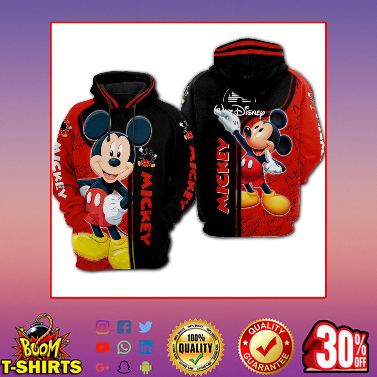 Disney Mickey 3d hoodie, zip hoodie