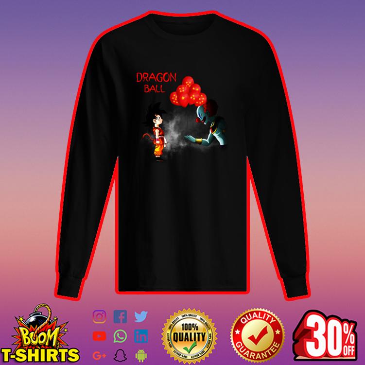 Goku Dragon ball IT long sleeved t-shirt