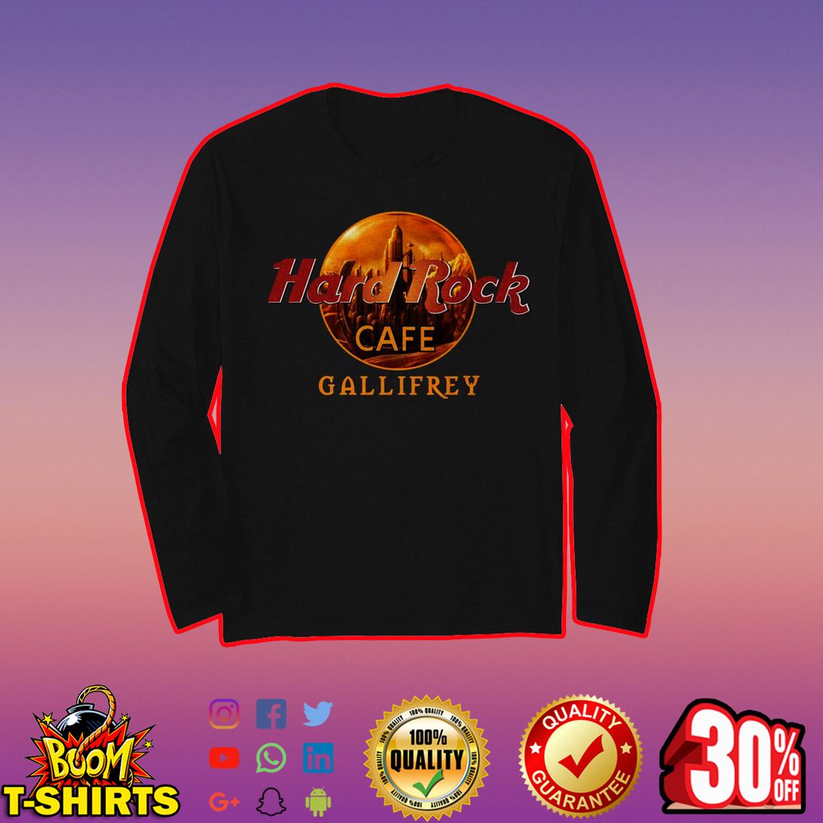 Hard Rock cafe Gallifrey long sleeve t-shirt