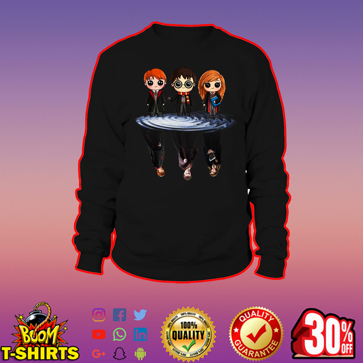 Harry potter reflection sweatshirt