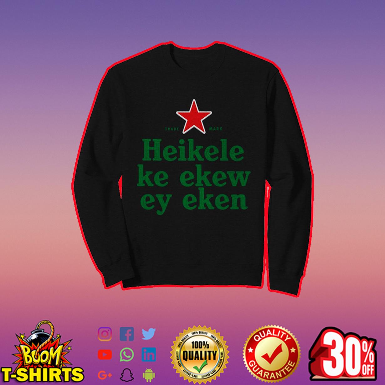 Heikelekeekeweyeken Sublimation Dryfit sweatshirt