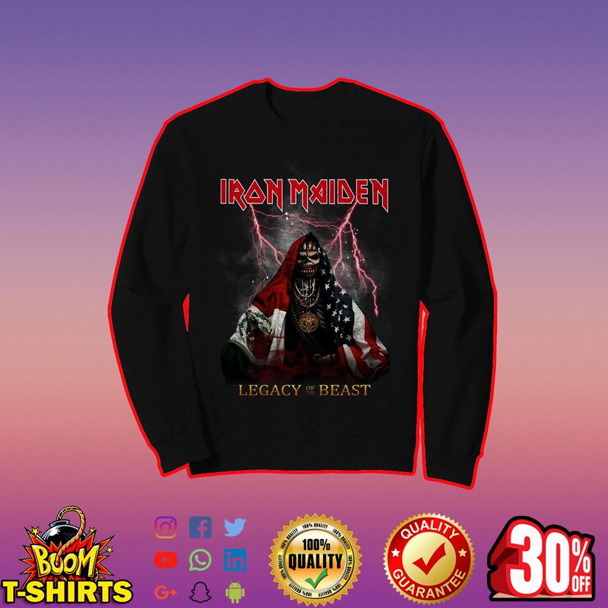 Iron Maiden legacy of the beast sweatshirt