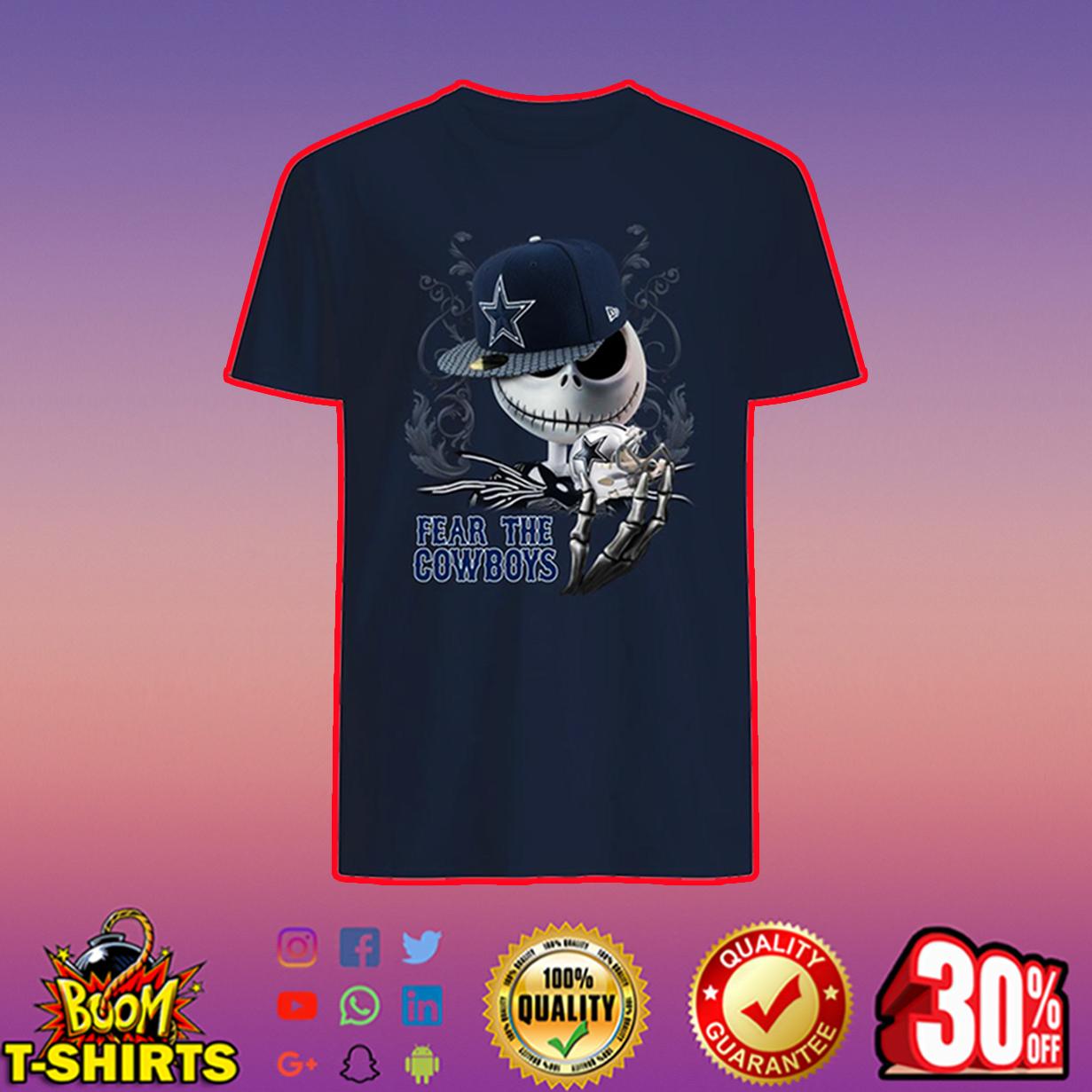 Jack Skellington Fear The Cowboys shirt