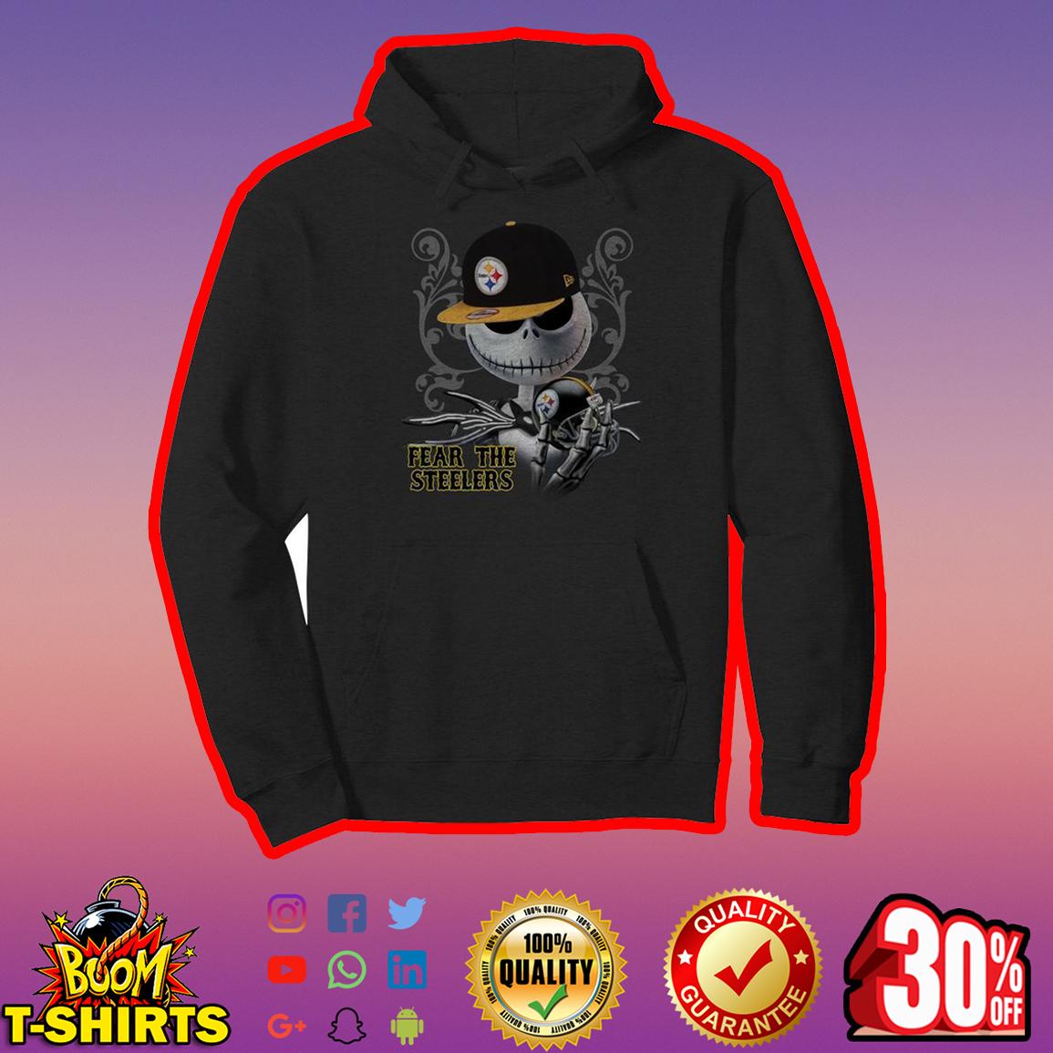 Jack Skellington Fear The Steelers hoodie