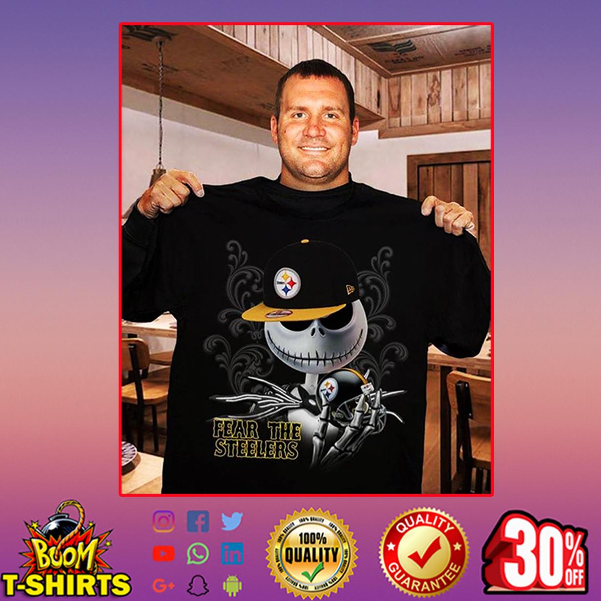 Jack Skellington Fear The Steelers shirt