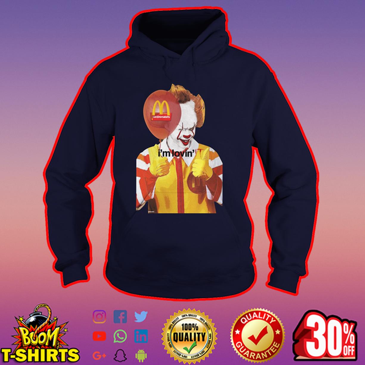 Mcdonald's I'm Lovin' IT hoodie