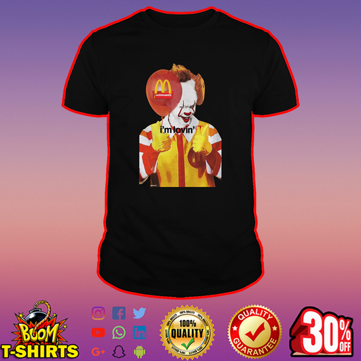 Mcdonald's I'm Lovin' IT shirt