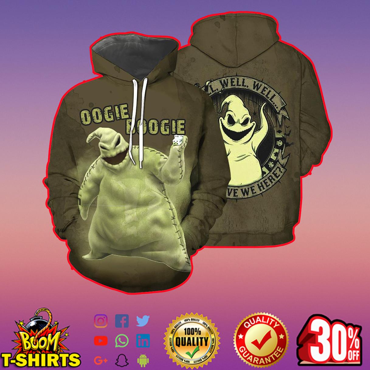 Oogie Boogie 3d shirt, 3d hoodie - hoodie 3d