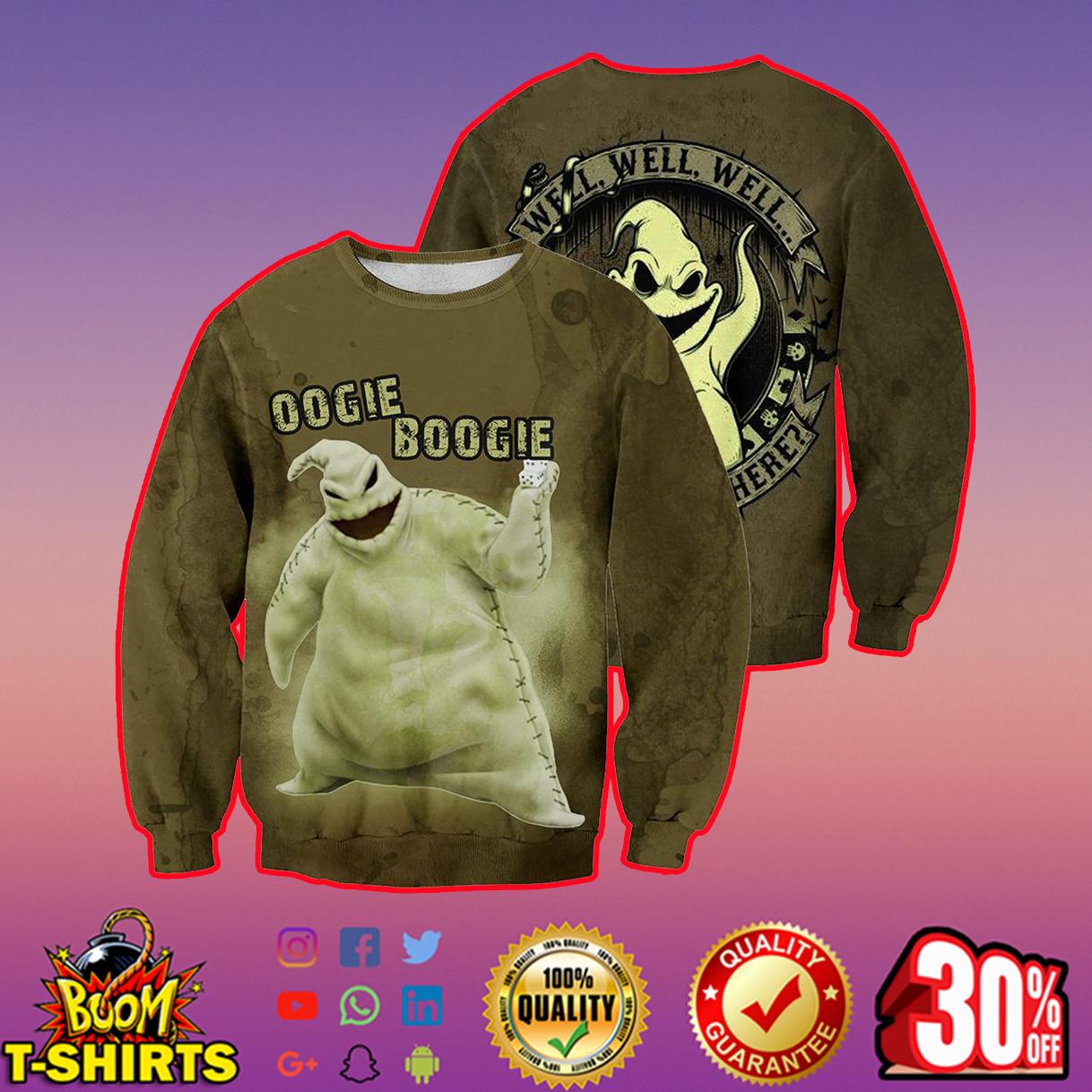Oogie Boogie 3d shirt, 3d hoodie - sweatshirt 3d