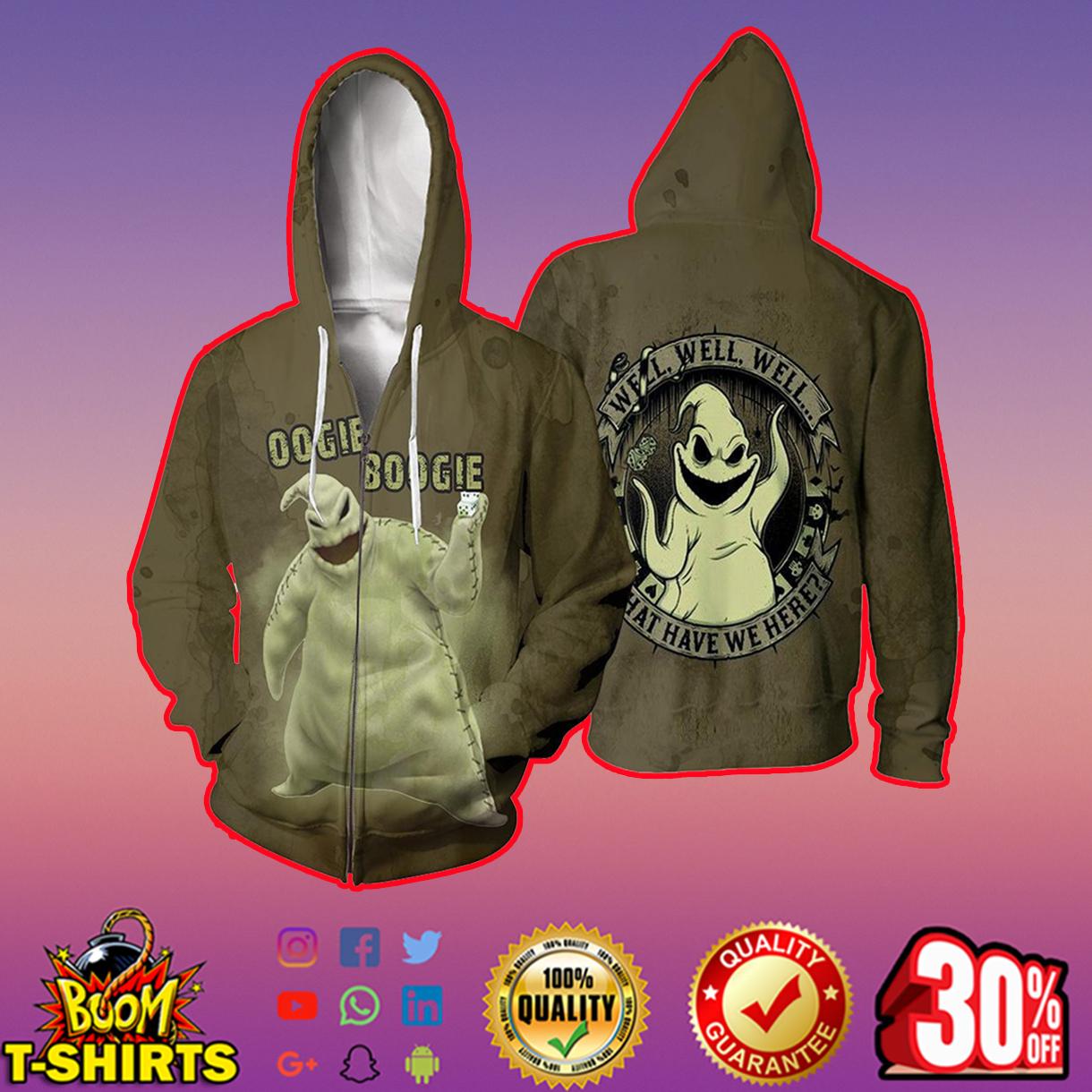 Oogie Boogie 3d shirt, 3d hoodie - zip hoodie 3d