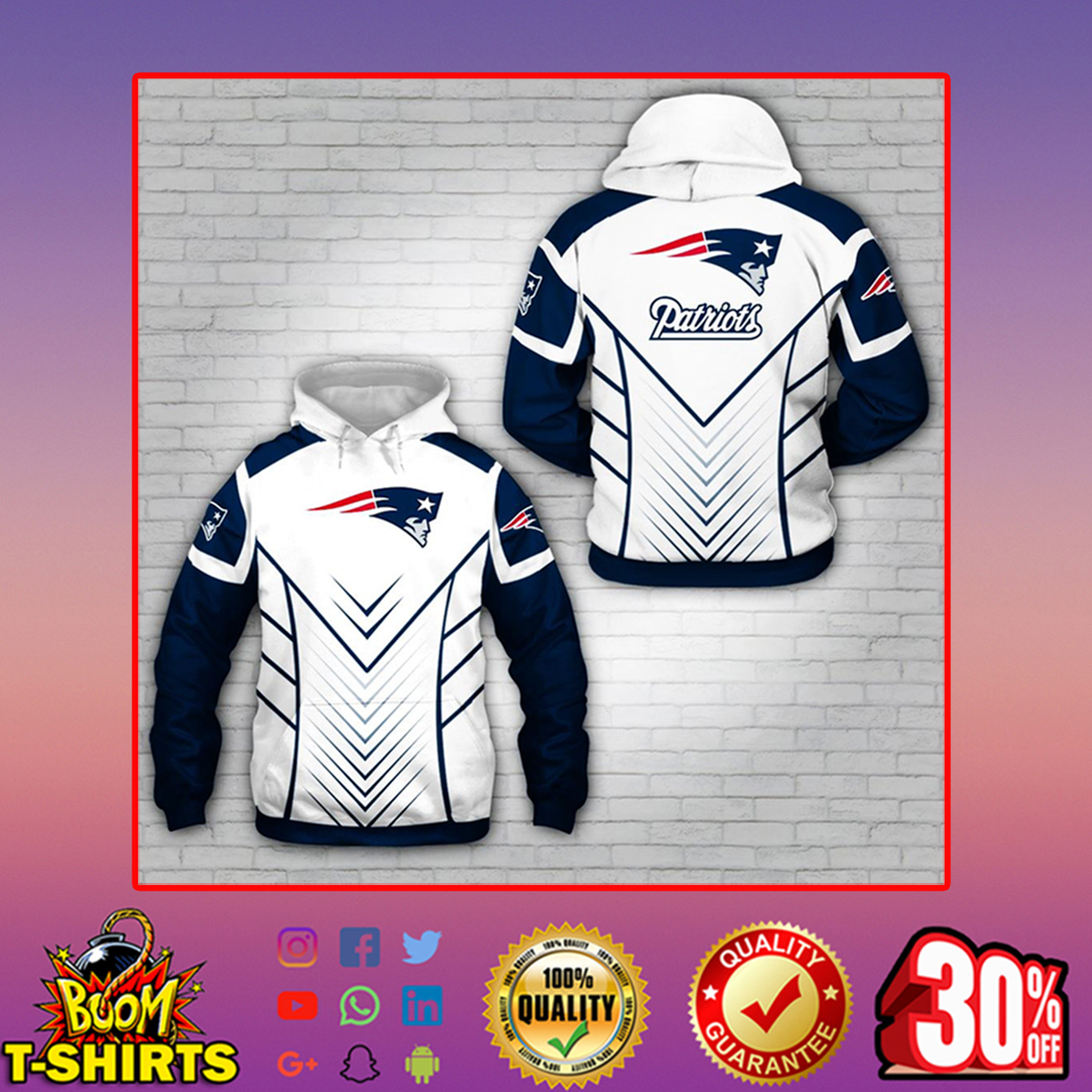 Patriots hoodie 3d