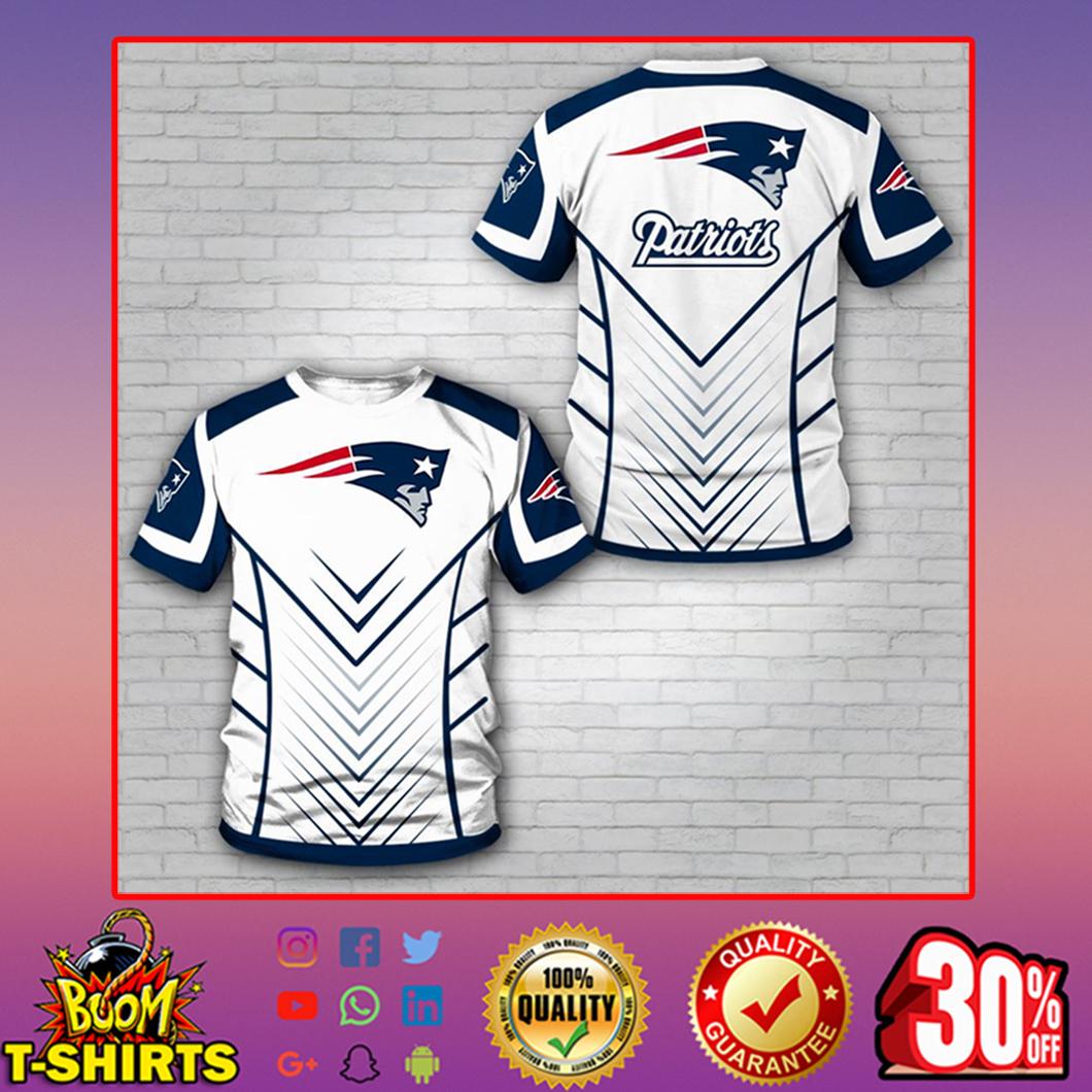 Patriots t-shirt 3d