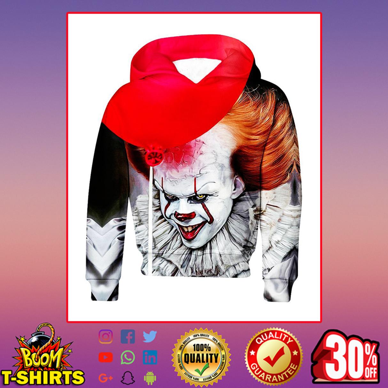 Pennywise IT Hoodie 3D, T-shirt 3D - Kid hoodie 3D