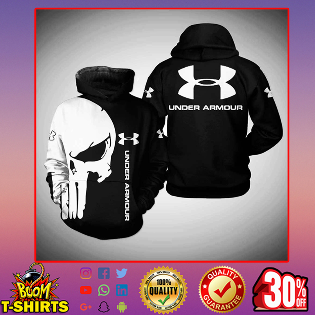 Punisher Skull Under Armour hoodie 3d