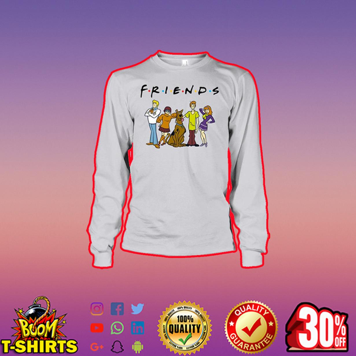 Scooby Doo Friends long sleeve tee