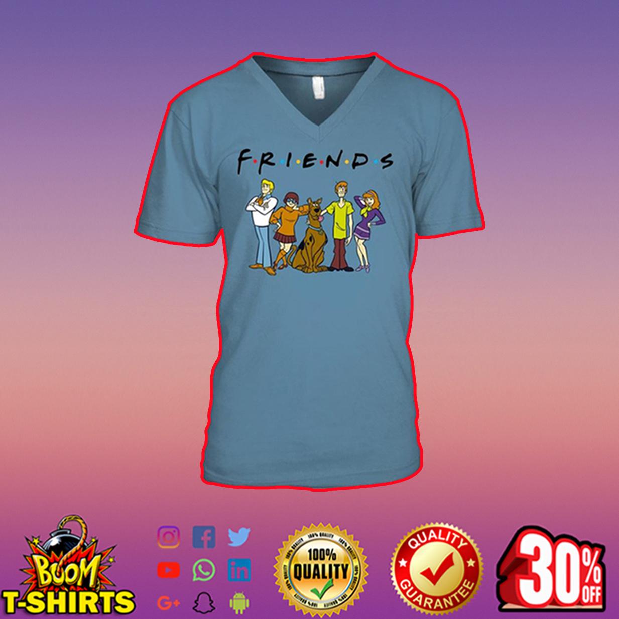 Scooby Doo Friends v-neck