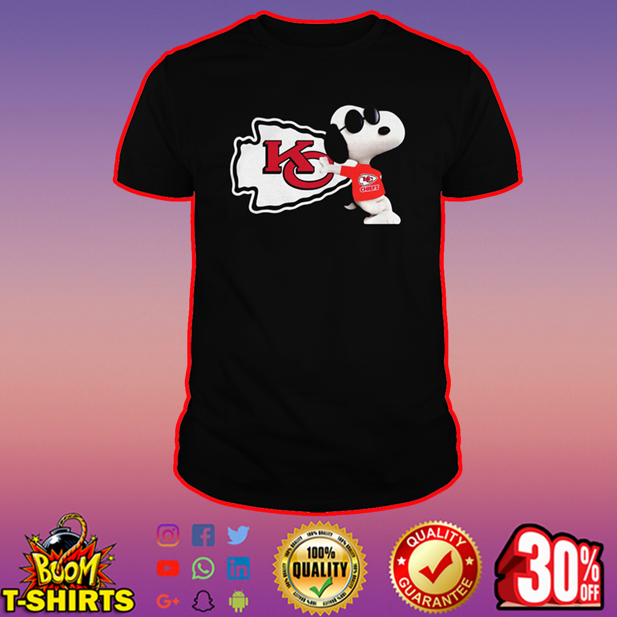 Snoopy Kansas City Chiefs shirt