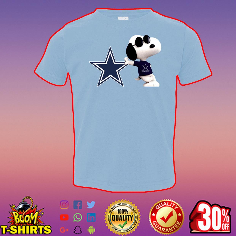 Snoopy dallas cowboys t-shirt - light blue