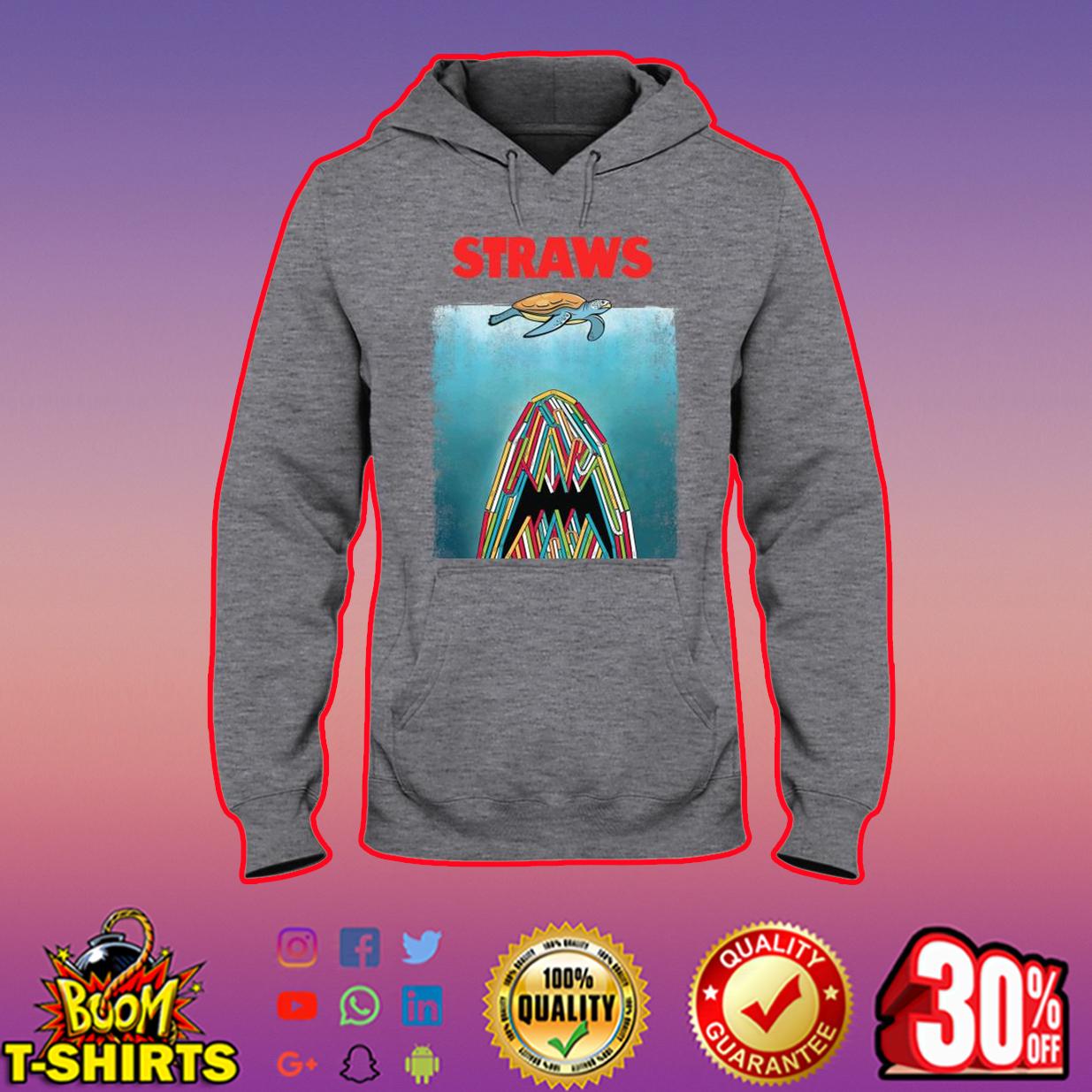 Straws Turtle hooded sweatshirt