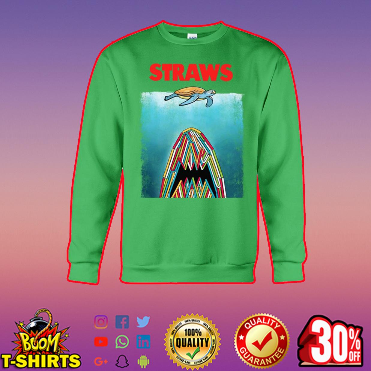 Straws Turtle sweatshirt