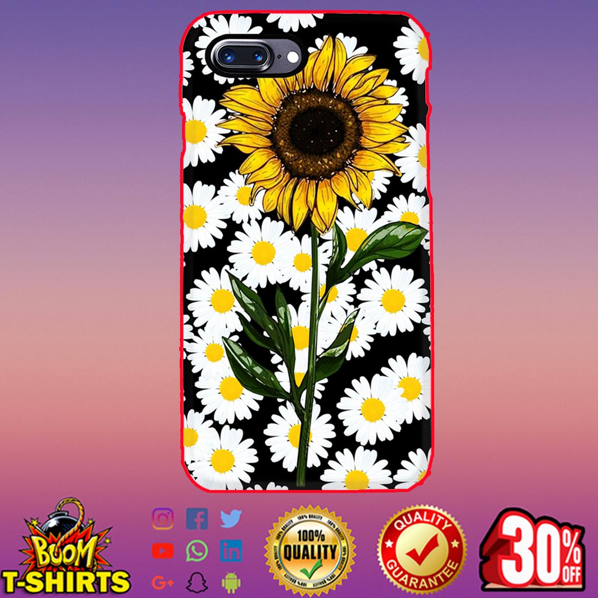 Sunflower daisy phone case - Ịphone 7 plus case