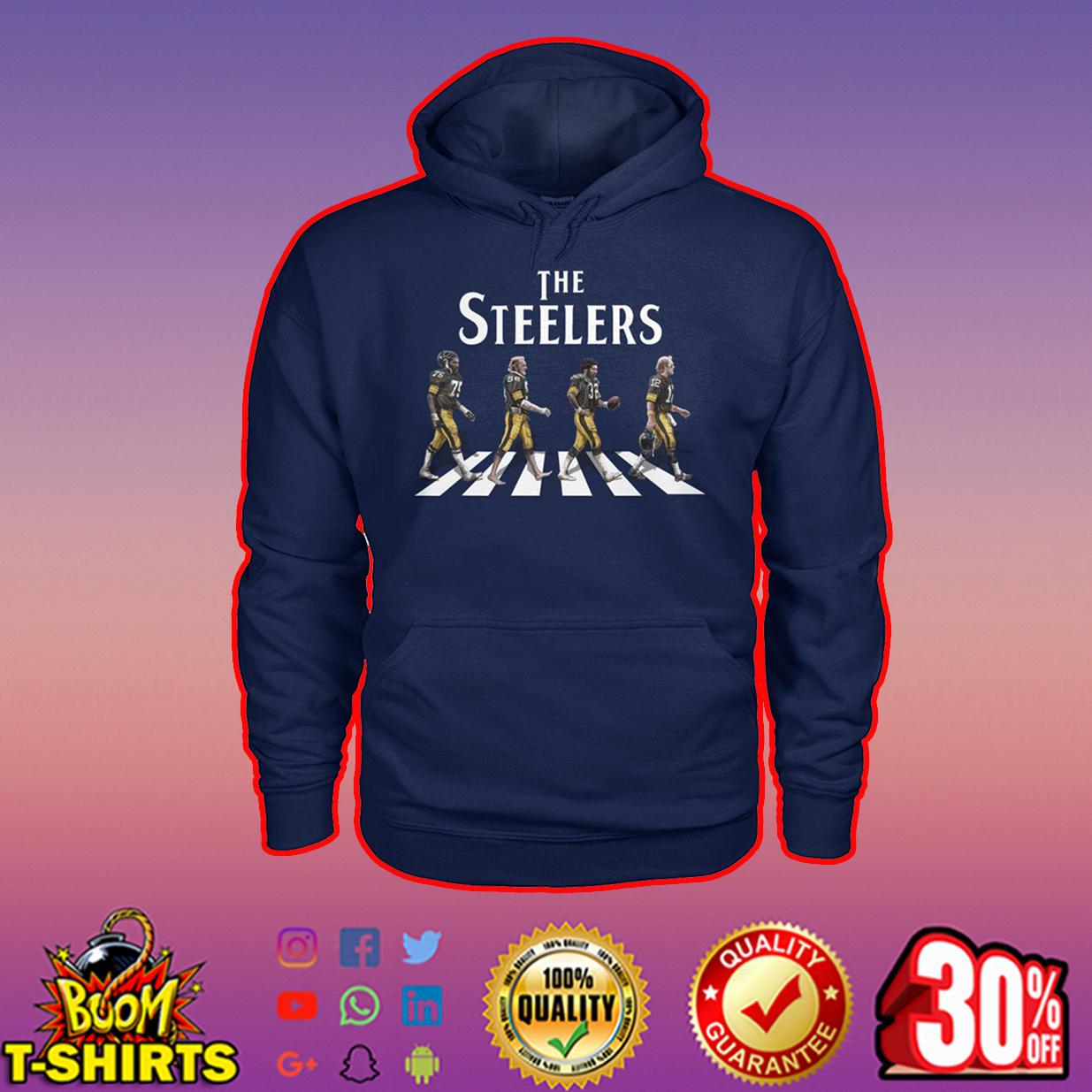 The Steelers abbey road hoodie