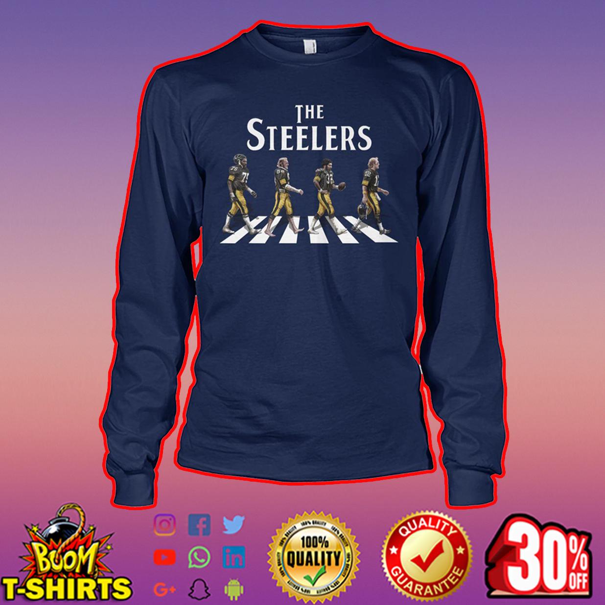 The Steelers abbey road long sleeve