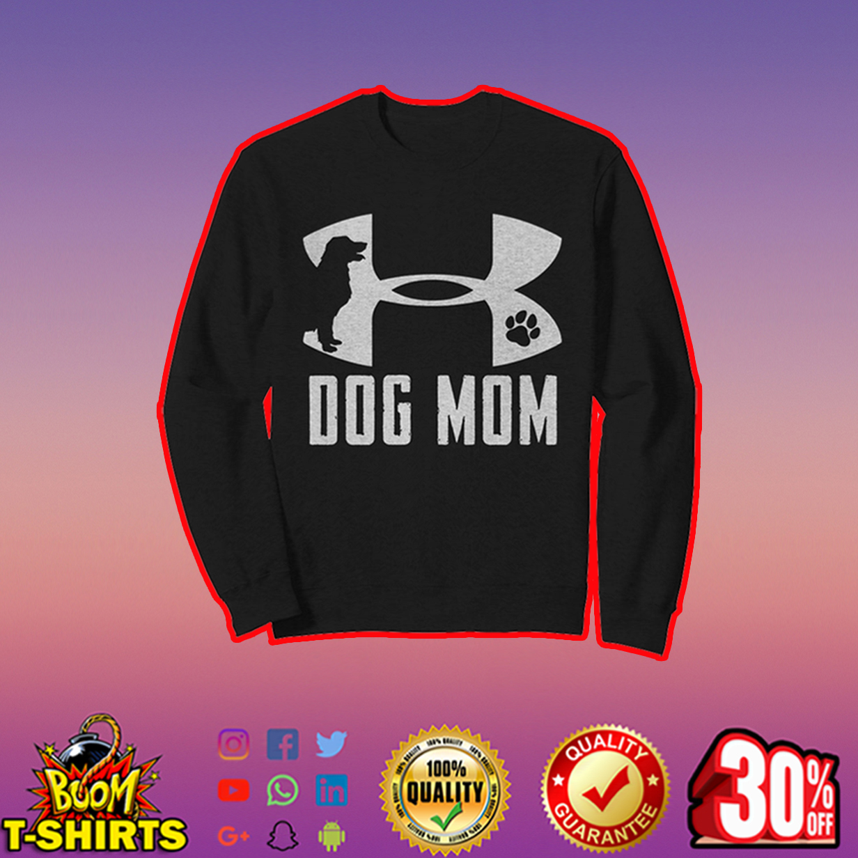 Under Armour Dog Mom sweatshirt