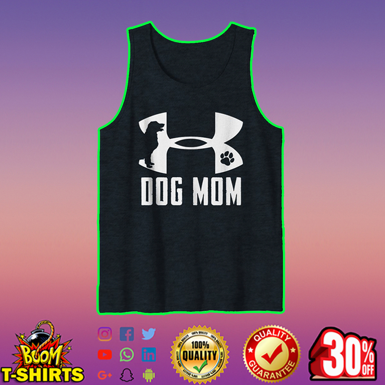 Under Armour Dog Mom tank top