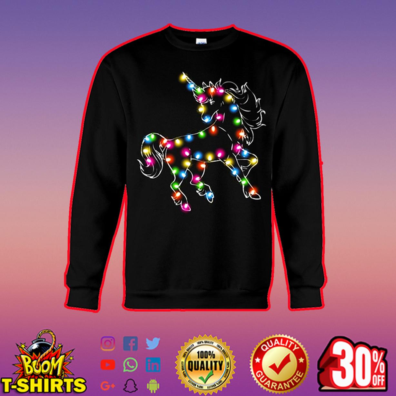 Unicorn Color LED Light sweatshirt