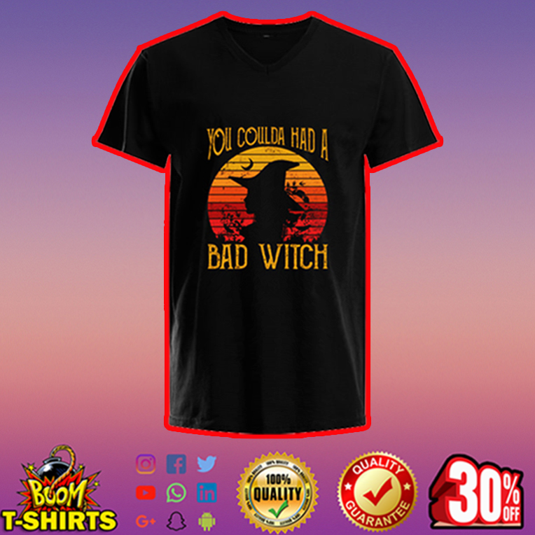 You coulda had a bad witch v-neck
