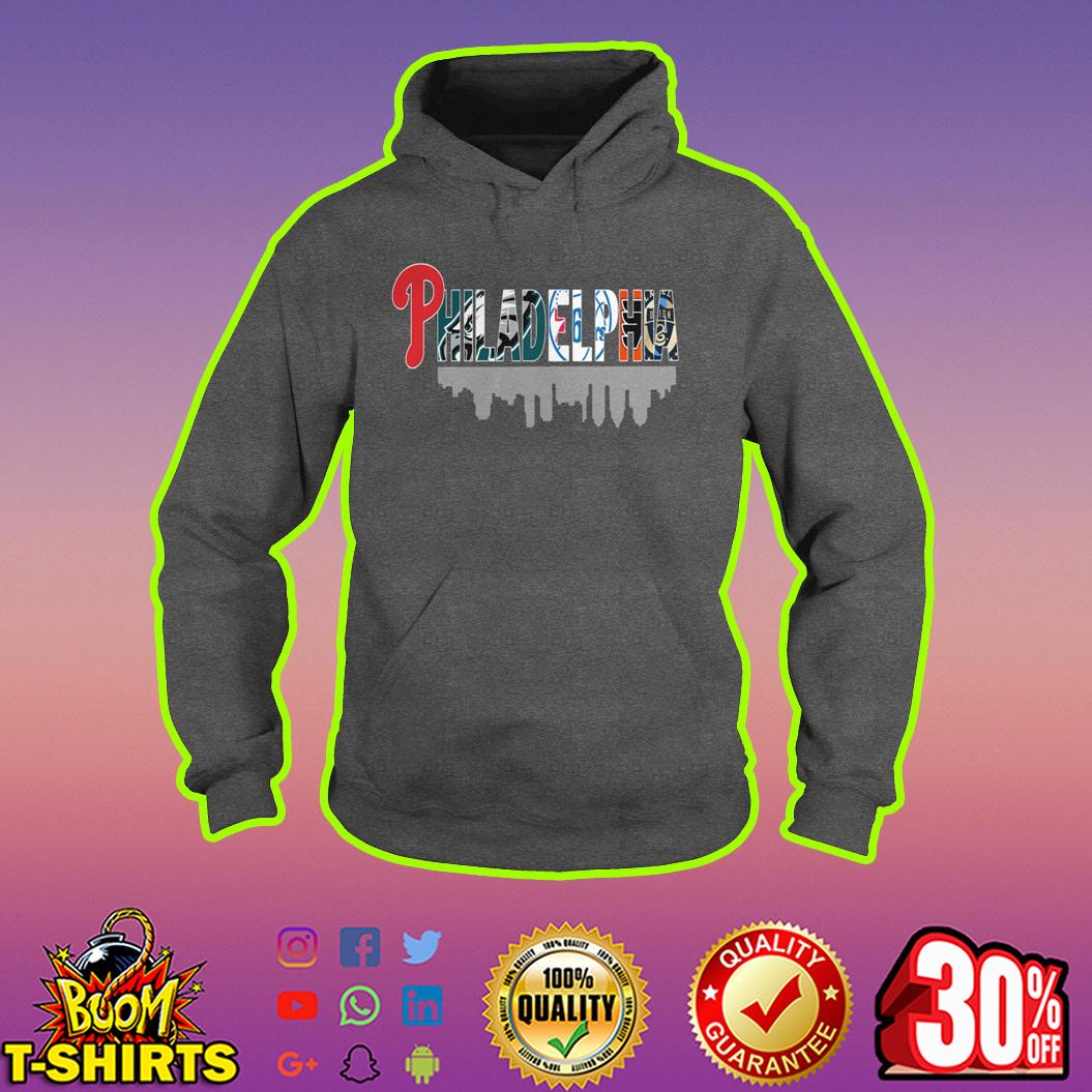 All Sport team in Philadelphia logo hoodie