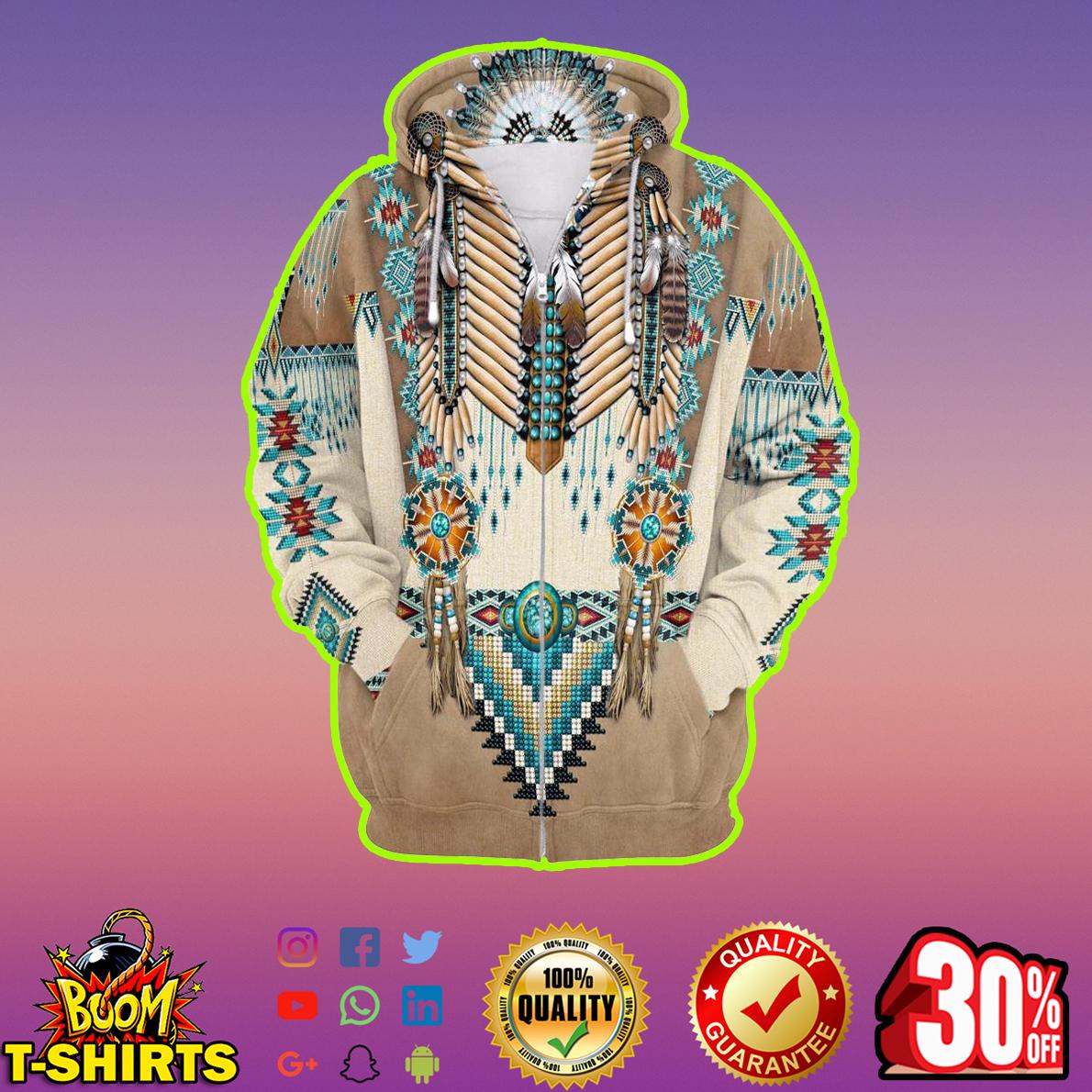 Apache Warrior 3d Zip Hoodie