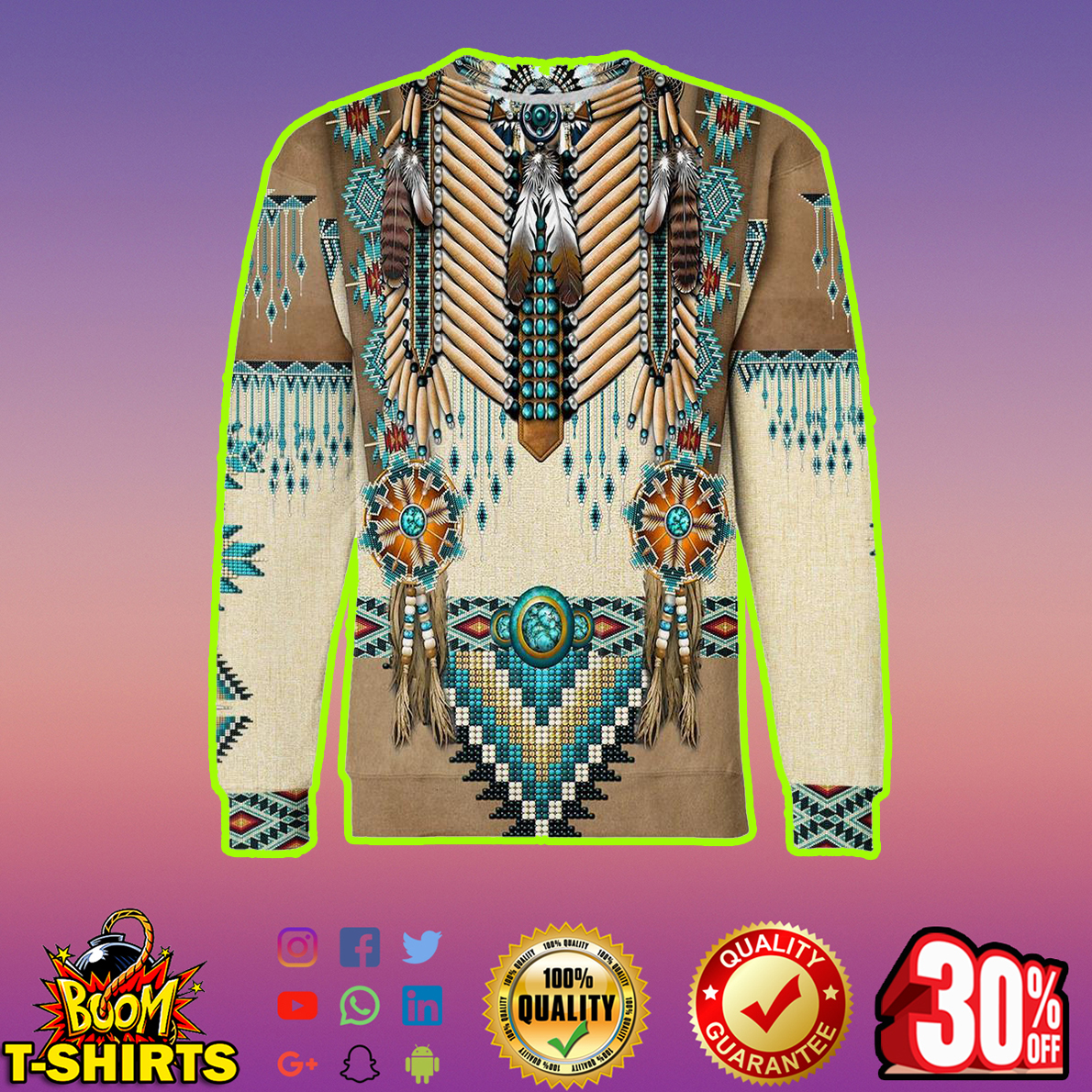 Apache Warrior 3d sweatshirt