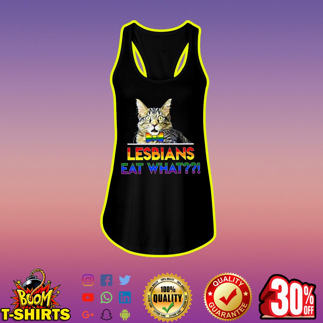 Cat Lesbians Eat What tank top