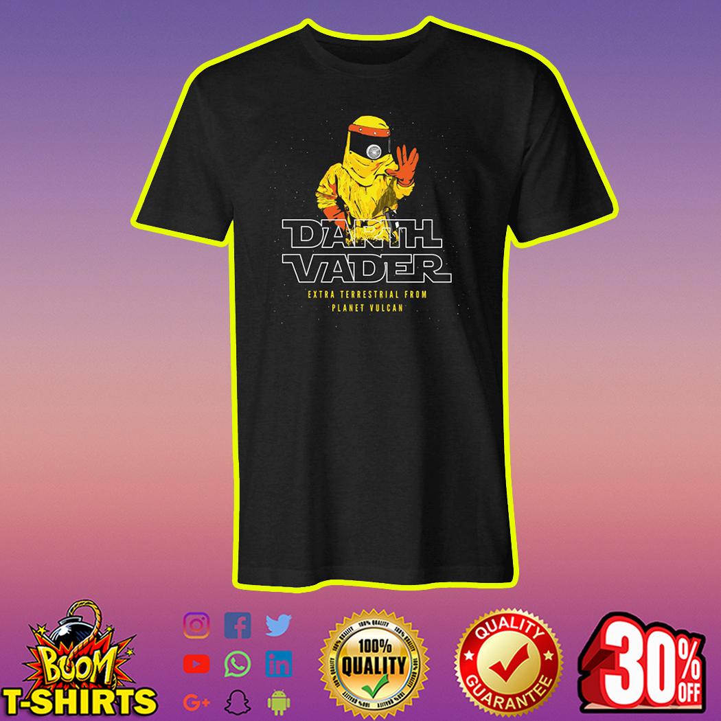 Darth Vader Extra Terrestrial From Planet Vulcan shirt-M