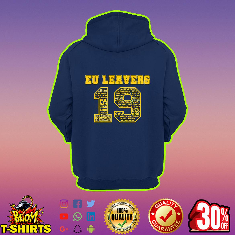 EU Leavers 19 Hoodie