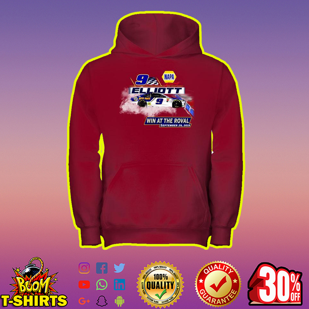 Elliott 9 Win At The Roval September 29 2019 hoodie