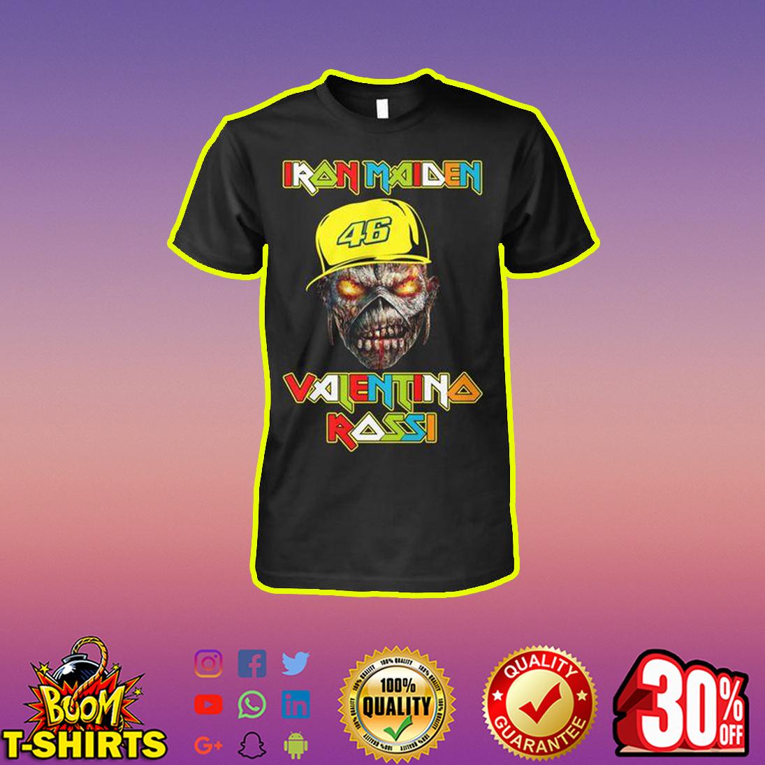 Iron Maiden Valentino Rossi VR46 Skull shirt