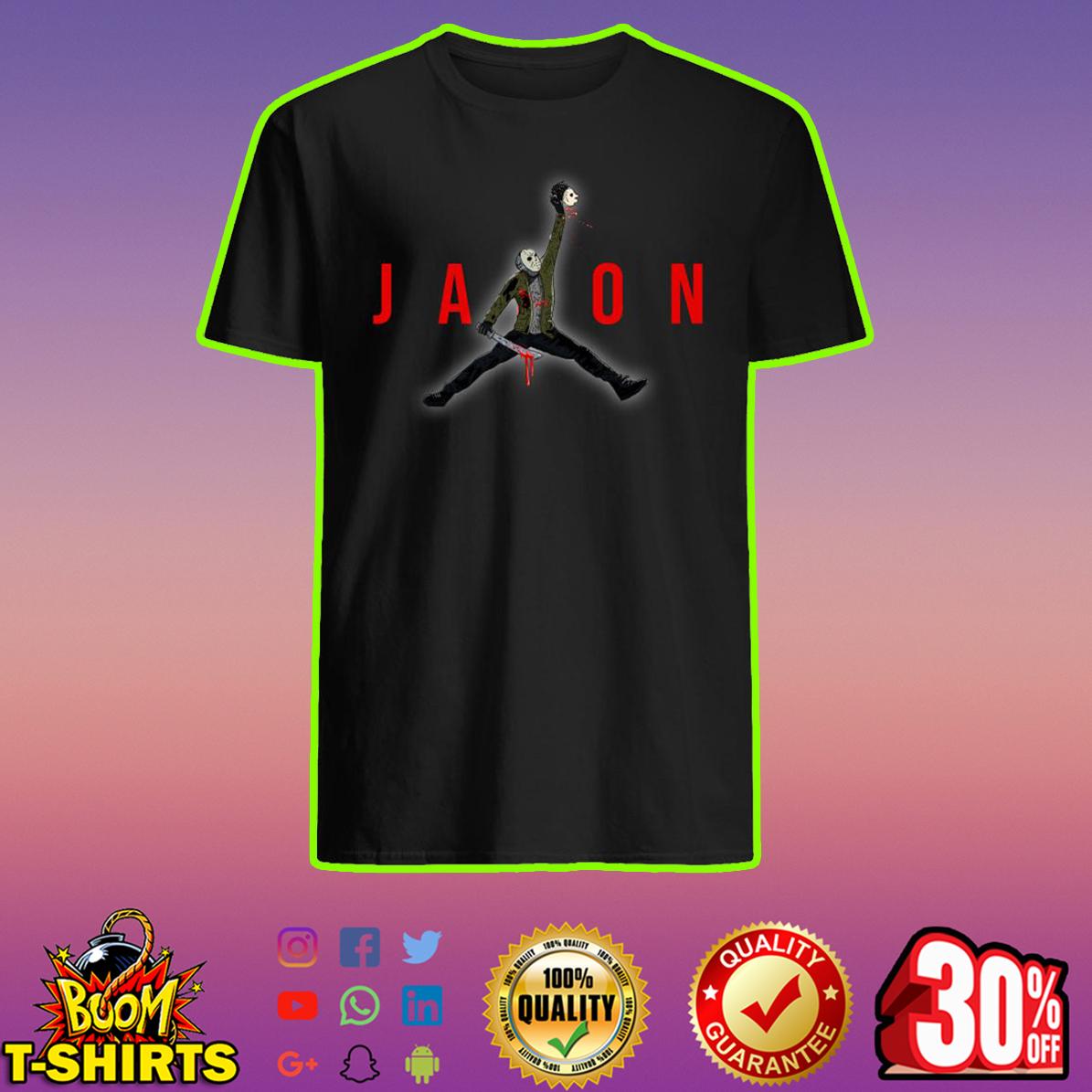 Jason Voorhees Jumpman Air Jordan shirt