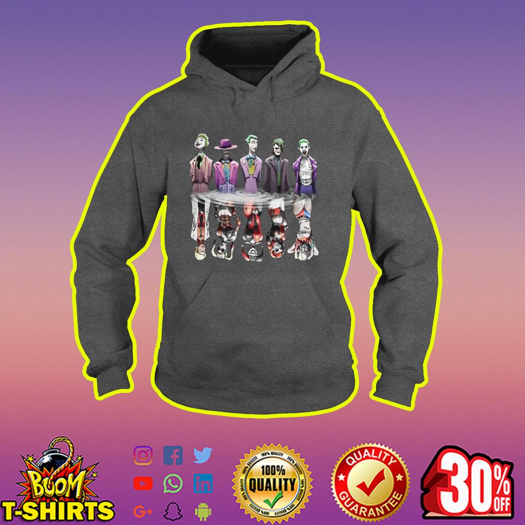 Joker And Harley Quinn Reflection hoodie