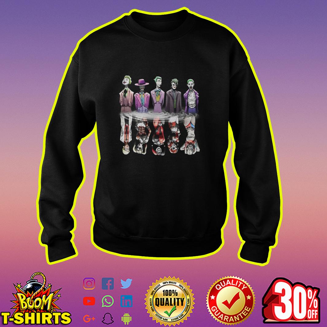 Joker And Harley Quinn Reflection sweatshirt