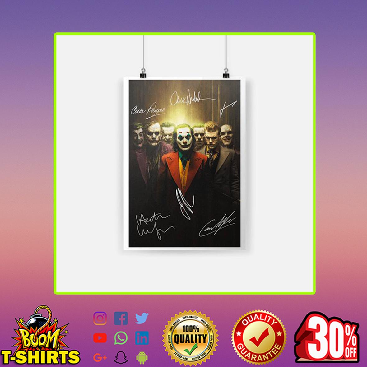 Joker Signature Poster- A4