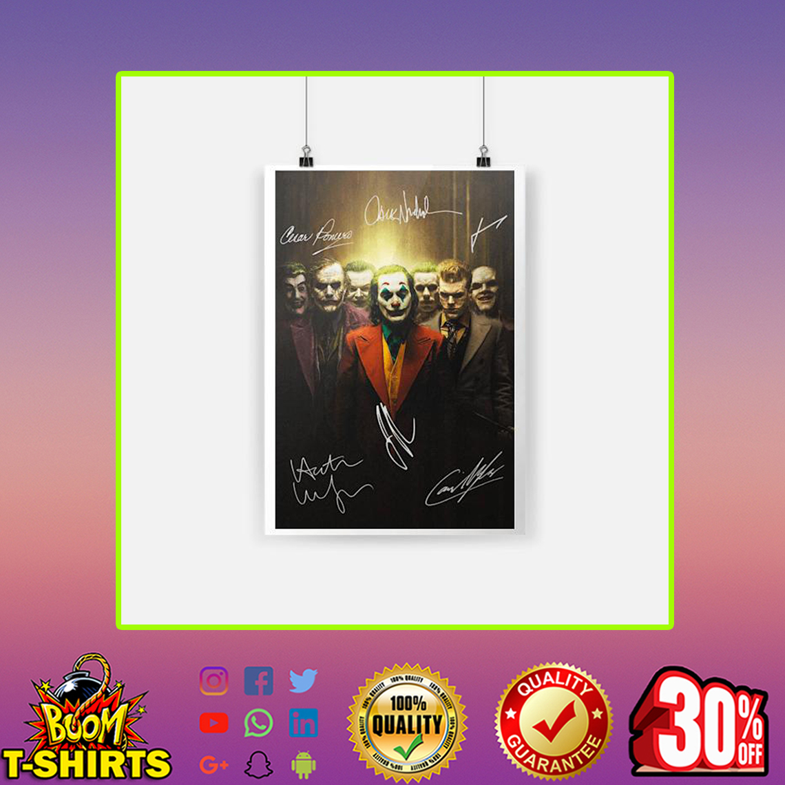 Joker Signature Poster