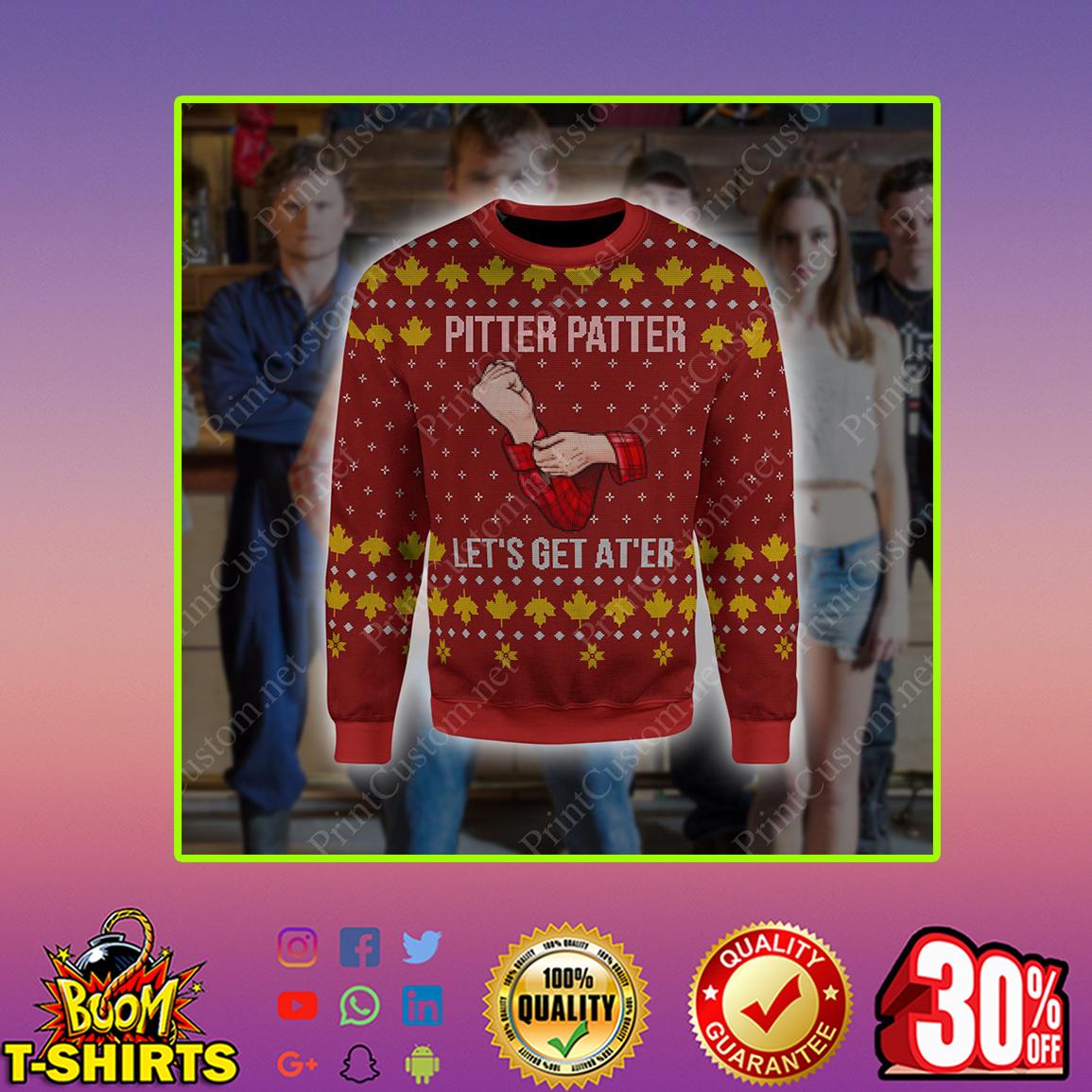 Letterkenny Pitter Patter Christmas Sweatshirt 3D Overprint