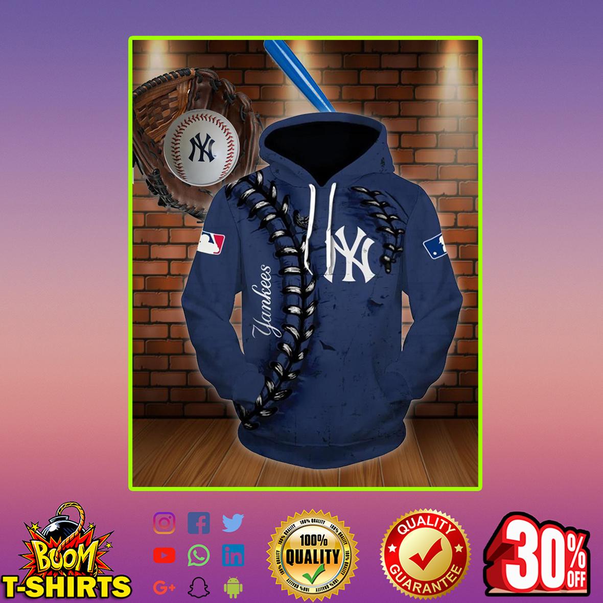 New York Yankees 3d hoodie